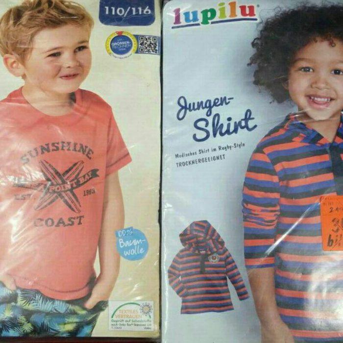 پوشاک استوک بچه گانه برند Lupilu